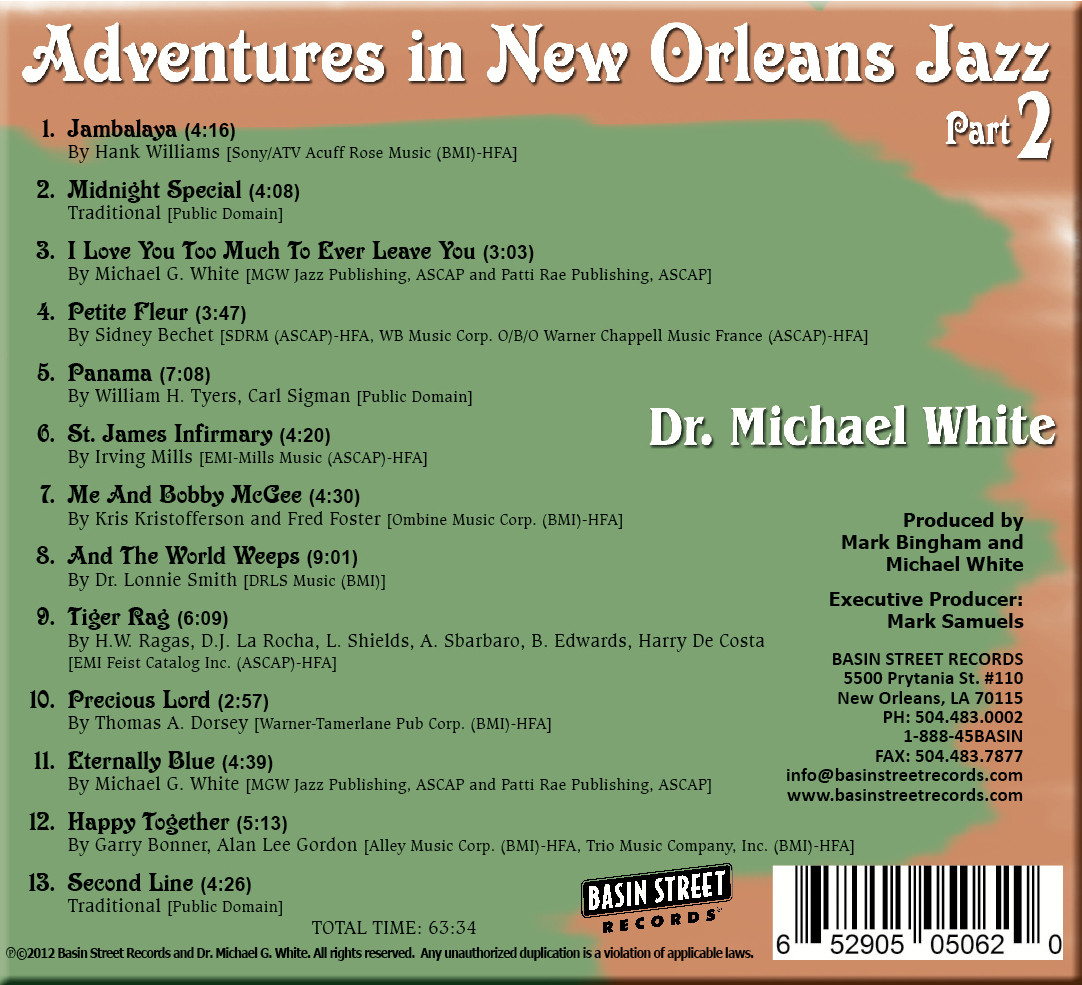 Dr Michael White - Adventures 22