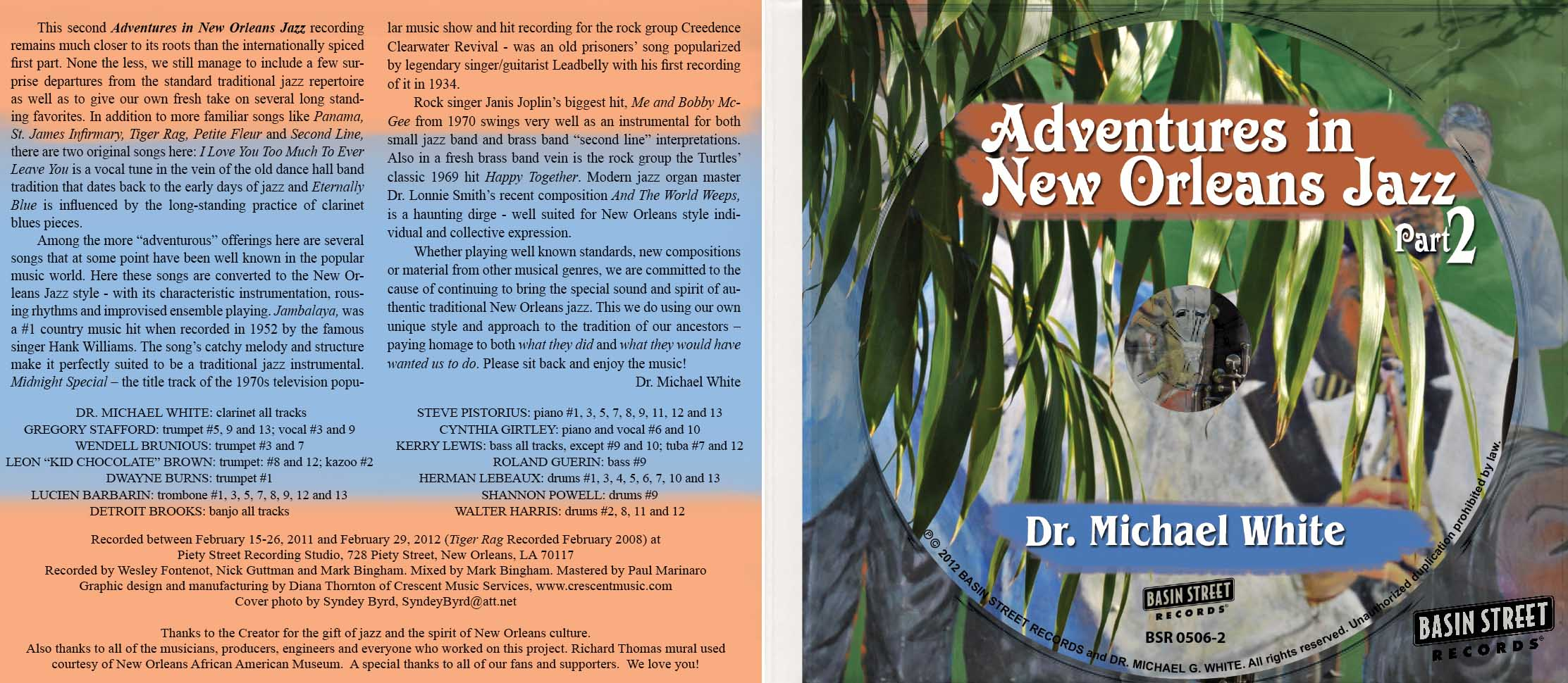 Dr Michael White - Adventures 23